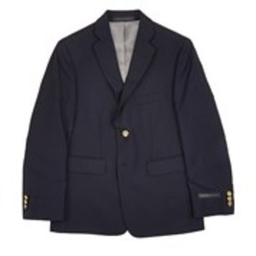 Boys 2-Button Gold Button Navy Sports Coat (8-20)