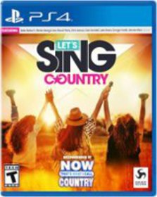 Let's Sing Country Standard Edition - PlayStation