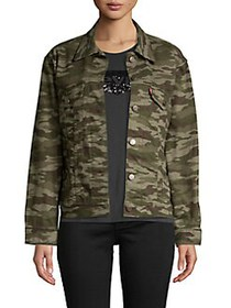 Levi's Camouflage Denim Jacket IN DISGUISE