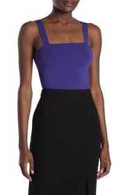 Ramy Brook Fallon Square Neck Stretch Knit Tank