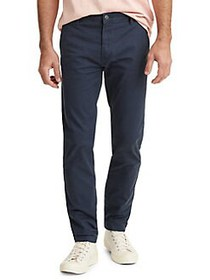 Levi's Tapered-Leg Stretch-Cotton Chino Pants NAVY