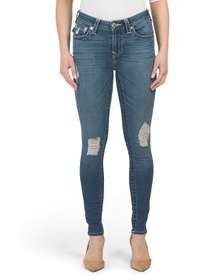 TRUE RELIGION Jennie Single Needle Flap Skinny Jea