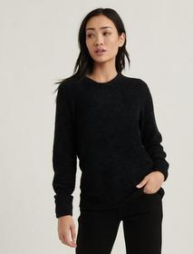 Lucky Brand Teddy Crew Neck Sweater