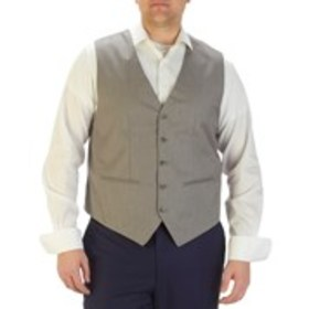 Big & Tall Textured 5-Button Suit Vest