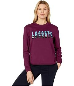 Lacoste Long Sleeve Brushed Fleece Lacoste Logo Sw