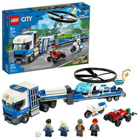 LEGO City Police Helicopter Transport 60244 Buildi