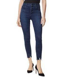J Brand - Lillie High Rise Crop Skinny Jeans in Eg