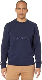 Lacoste Long Sleeve Non Brushed Fleece Graphic Ani