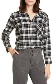 NSF CLOTHING Roux Fitted Button Up Shirt