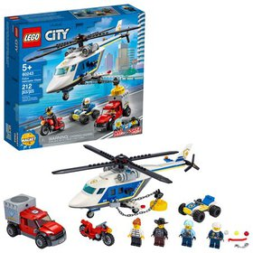 LEGO City Police Helicopter Chase 60243 Building S