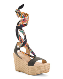MAYPOL Made In Spain Leather Sandals
