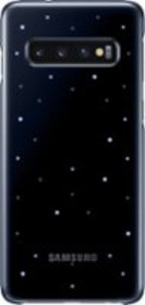 LED Back Cover Case for Samsung Galaxy S10 - Black