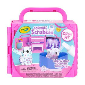 Crayola Scribble Scrubbie Pets Salon Set