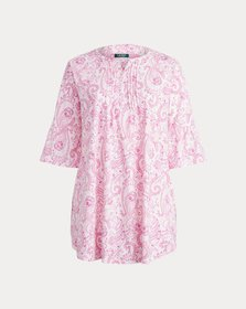 Ralph Lauren Paisley Cotton Nightgown