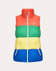 Ralph Lauren Color-Blocked Down Vest