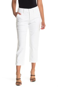 NYDJ Straight Ankle Crop Chino Jeans (Petite)