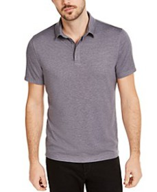 Men's AlfaTech Stretch Solid Polo Shirt, Created F