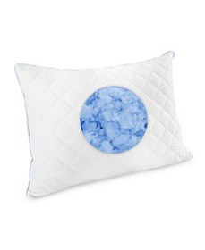 Quilted Gel-Infused Cluster Memory Foam Pillows, C