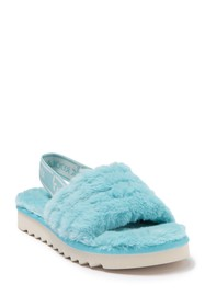 KOOLABURRA BY UGG Fuzz'n Faux Fur Slipper Sandal (