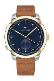 Tommy Hilfiger Men's Denim Pinnacle Watch
