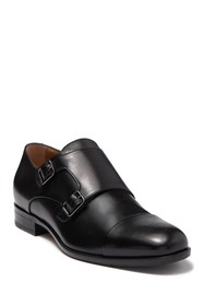 BOSS Stanford Leather Monk Strap Shoe