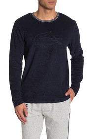 Lacoste Terry Long Sleeve Lounge T-Shirt