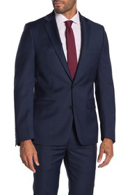 Calvin Klein Sharkskin Slim Fit Suit Separate Jack