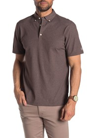 AG Melange Short Sleeve Performance Golf Polo