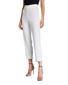 Elie Tahari Willa Pull-On Straight-Leg Ankle Pant