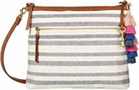 Fossil Fossil - Fiona Large Crossbody. Color Navy