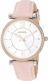 Fossil Fossil - Carlie Three-Hand Watch. Color ES4