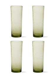 tag Bubble Tall Bloody Mary Glasses - Foliage - Se
