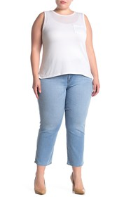 Sanctuary Moodern Standard Straight Cropped Jeans