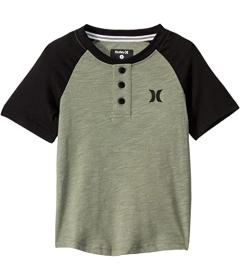 Hurley Kids Marled Raglan Short Sleeve T-Shirt (To