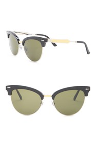 GUCCI 55mm Cat-Eye Sunglasses