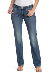 Lucky Brand Sweet Mid Rise Straight Leg Jeans