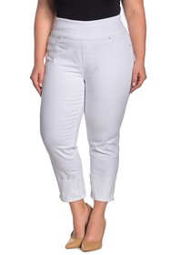 Seven7 Deep Cuff Pull-On Jeans (Plus Size)