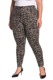 Seven7 High Rise Animal Print Skinny Jeans (Plus S