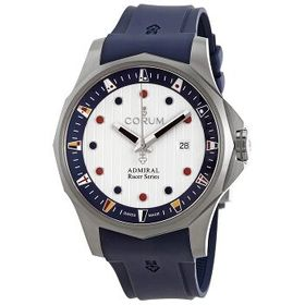 CorumAdmiral Racer White-Blue Dial Automatic Men's