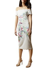 Ted Baker - Trixiiy Off-the-Shoulder Scalloped Bod