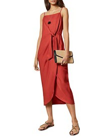 Ted Baker - Laani Integral Knotted Midi Dress