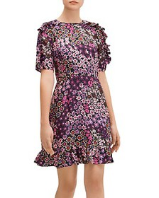 kate spade new york - Pacific Petals Smocked Dress