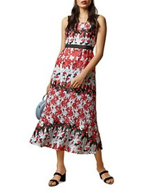 Ted Baker - Telily Printed Lace Midi Dress