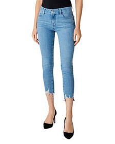 J Brand - 835 Mid-Rise Cropped Skinny Jeans in Clo