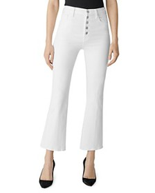 J Brand - Lillie High-Rise Ankle Flare Jeans in Bl