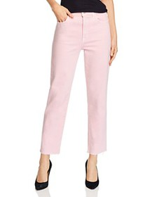 J Brand - Jules High-Rise Straight-Leg Jeans in An