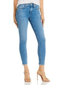 rag & bone - Cate Frayed Ankle Skinny Jeans in Pal