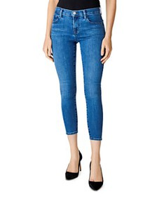 J Brand - Mid-Rise Cropped Skinny Jeans in Heart