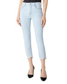 J Brand - Ruby High-Rise Cropped Cigarette Jeans i