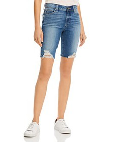 PAIGE - Jax Cutoff Denim Shorts